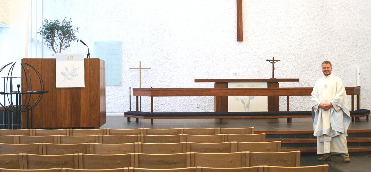 Valkoinen sarja Pitäjänmäen kirkkoon